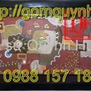 Tranh gốm Bát Tràng - Tranh trừu tượng 11