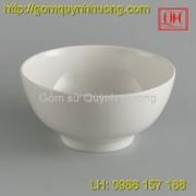 Bát đĩa Bát Tràng - Bát cơm truyền thống 11Cm