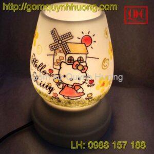 Đèn xông tinh dầu gốm sứ Hello Kitty