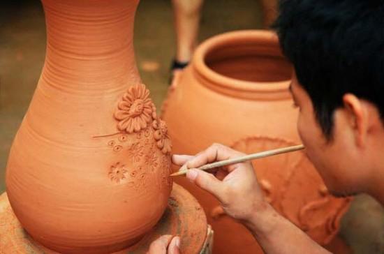 Những sản phẩm làm từ gốm bát tràng được ưa chuộng