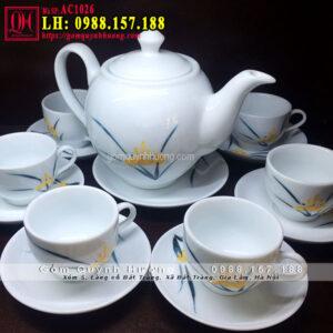 Bình pha trà và ly uống trà đẹp