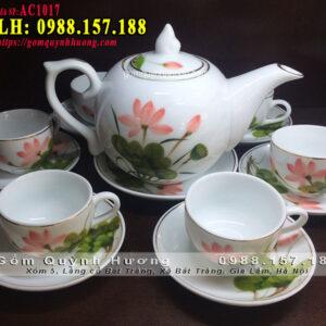 Bộ tách trà đẹp mã AC1017