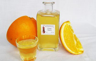 tác dụng rượu cam ngâm