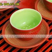 Chén uống trà mẫu bộ ấm chén gốm đỏ ganh tách lótChén uống trà mẫu bộ ấm chén gốm đỏ ganh tách lót