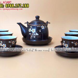 Bộ ấm chén pha trà 1