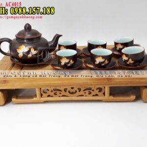 Bình trà Bát Tràng 1