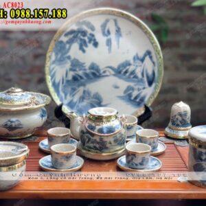 Ấm trà men rạn bọc đồng - Xưởng sản xuất ấm chén