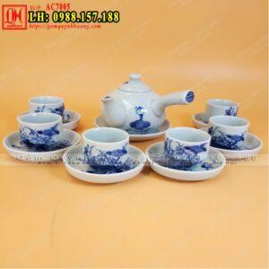 Bộ ấm trà Bát Tràng - Mua ấm chén đẹp ở Hà Nội