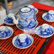 Ấm trà gốm sứ Bát Tràng - Những bộ ấm chén đẹp