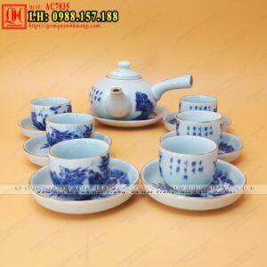 Bộ ấm Chọn mua bộ ấm trà đẹptrà Bát Tràng - Chọn mua bộ ấm trà đẹp