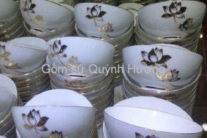 Quy trình sản xuất bộ bát ăn cơm Bát Tràng | Gốm Quỳnh Hương