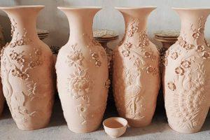 Quy trình sản xuất đồ gốm men rạn cổ | Gốm Quỳnh Hương