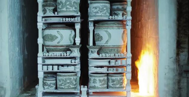 Quy trình sản xuất đồ gốm men rạn nung lần 2
