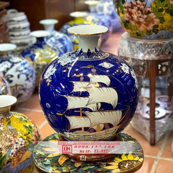 Gốm Quỳnh Hương – Địa chỉ cung cấp bình tài lộc uy tín